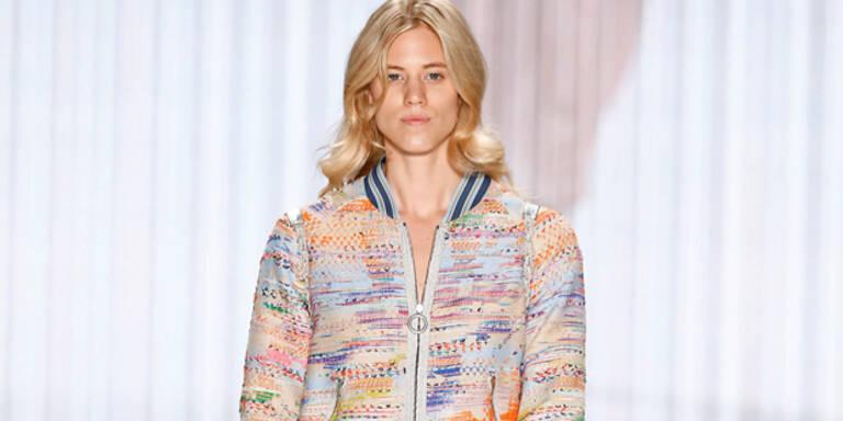 Larissa rockt Berliner Fashion Week