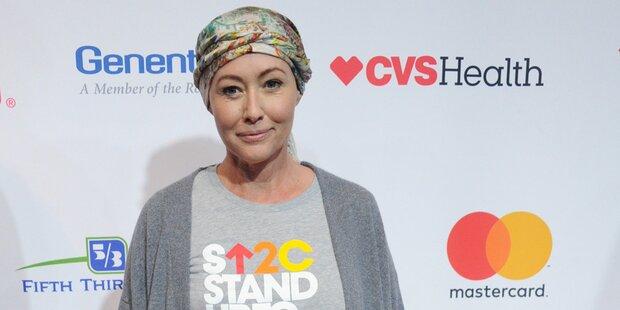 Shannen Doherty rührt bei Krebsgala