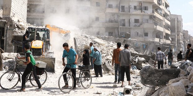 Todes-Schlacht um Aleppo