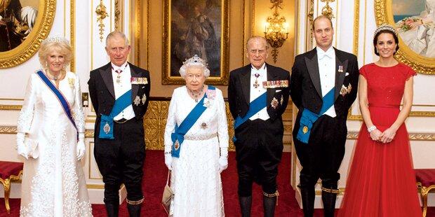Kate trägt Dianas Krone