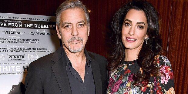 Clooney: 1 Million für Kinderzimmer?