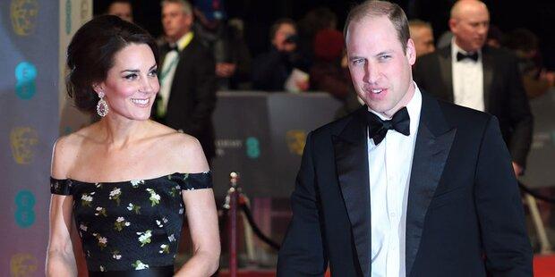 Kate und William bei Welfen-Hochzeit