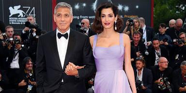 George Clooney Amal Clooney Venedig