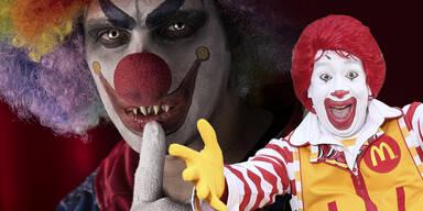 "Steckt ""Illuminati-Satan"" Ronald McDonald hinter Killer Clowns?"