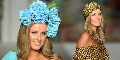Blumenmädel Nicky Hilton