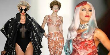 Freaky Trend: Fleisch-Kleider