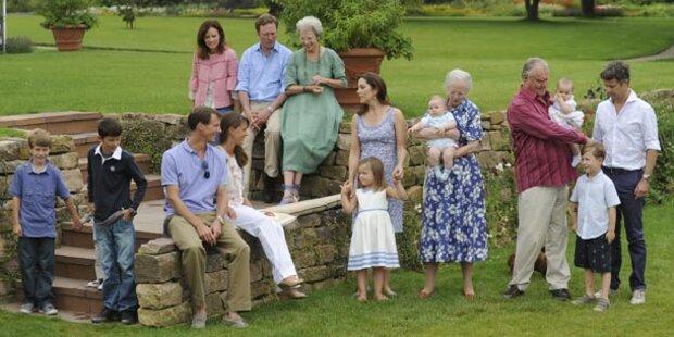 Die Urlaubsidylle der dänischen Royals
