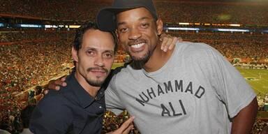 Marc Anthony & Will Smith dementieren Affären-Gerücht