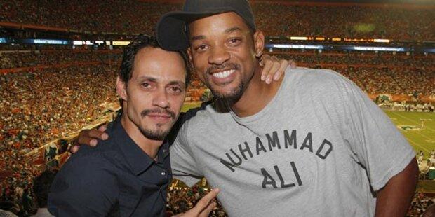 JLo-Ex Marc Anthony: Trost bei Will Smith