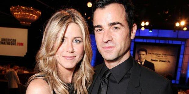 Aniston & Theroux: Großer Liebes-Auftritt
