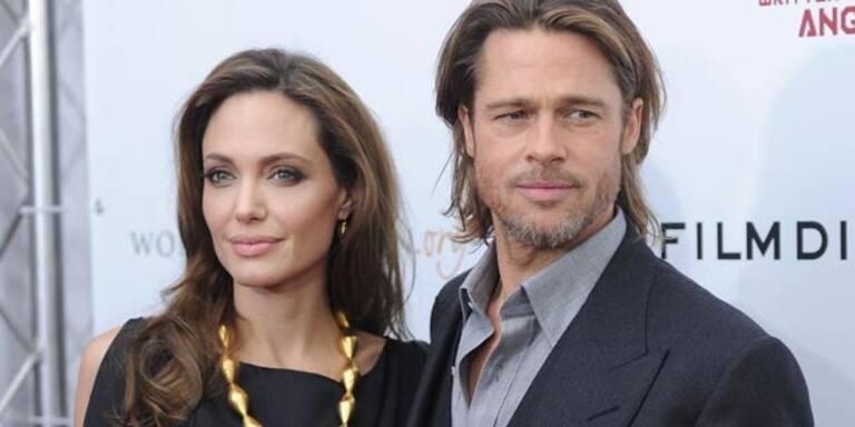 Jolie: Verliebt zur Premiere