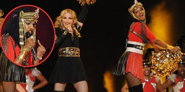 Stinkefinger: Madonna sauer auf M.I.A.