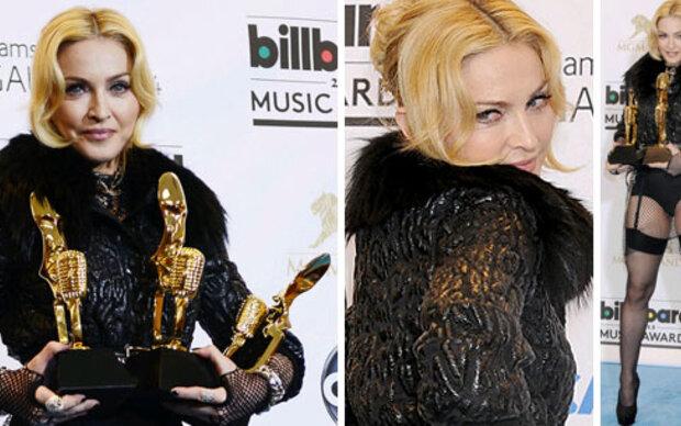 Strapse: Sexy Auftritt von Madonna