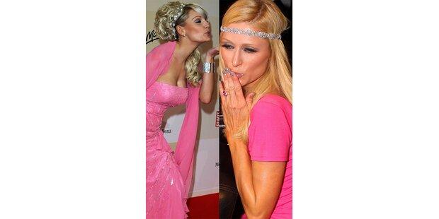 Wer ist diese billige Paris Hilton Kopie?