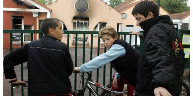 Volksschüler üben Konfliktbewältigung