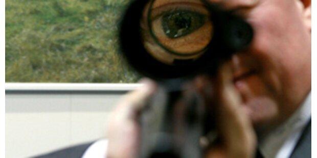 Gewehrkugel traf Terrassentür statt Reh