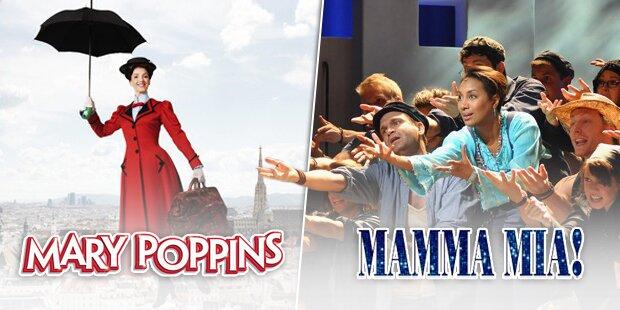 Mit oe24 zu Mary Poppins & Mamma Mia!