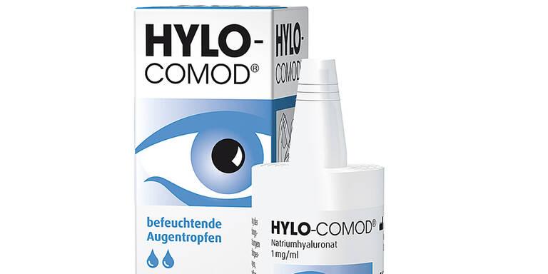 5x Jahresvorrat Hylo-Comod Augentropfen