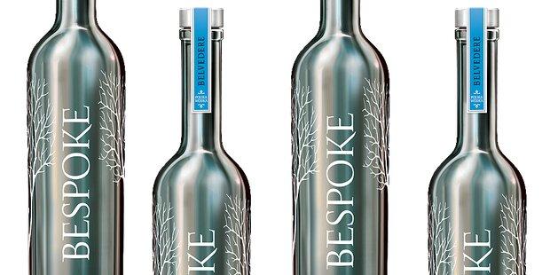 2 x BELVEDERE Vodka mit persönlichem Schriftzug