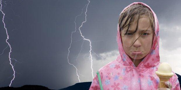 Gewitterfront wird 4 Tage wüten