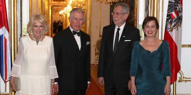 Prinz Charles: Dinner in der Hofburg