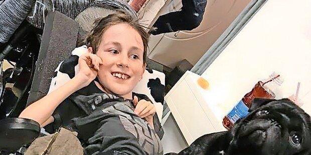 Alle wollen krankem Georg (12) helfen