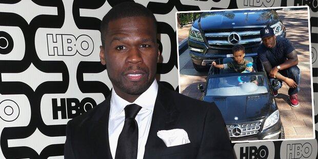 50 Cent: Benz zum 2. Geburtstag