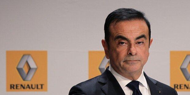 Ghosn ist nicht mehr Renault-Chef