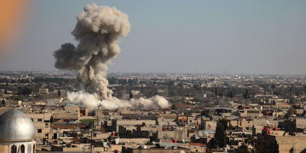 Russland - Beobachtungszentrum in Syrien bombardiert