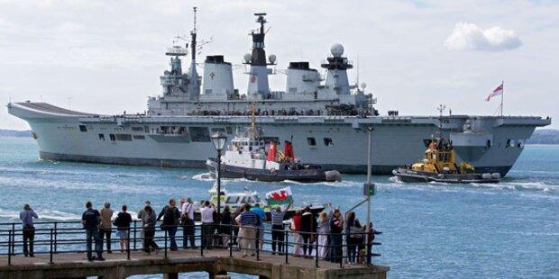 Gibraltar: London schickt Kriegsschiffe