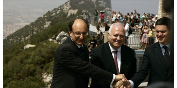 Erstmals ein span. Minister in Gibraltar