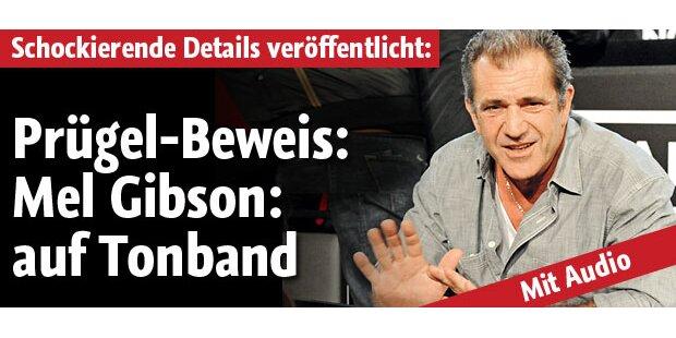 Mel Gibson: Sein Auszucker auf Tonband