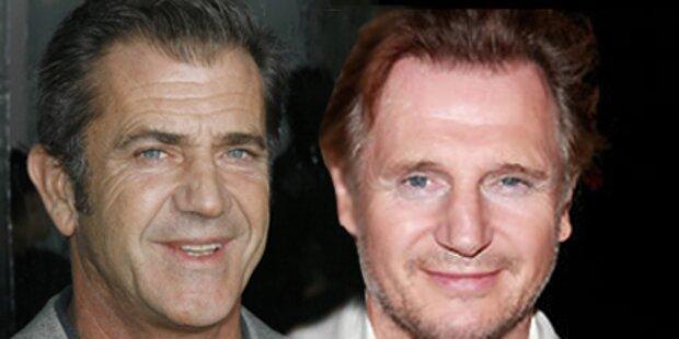 Liam Neeson statt Gibson in