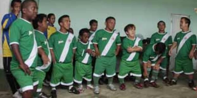 Die kleinste Fußballmannschaft der Welt