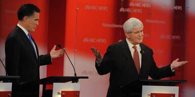 Newt Gingrich Mitt Romney