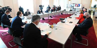Regionale Öffnung fix: So läuft die geheime Sitzung
