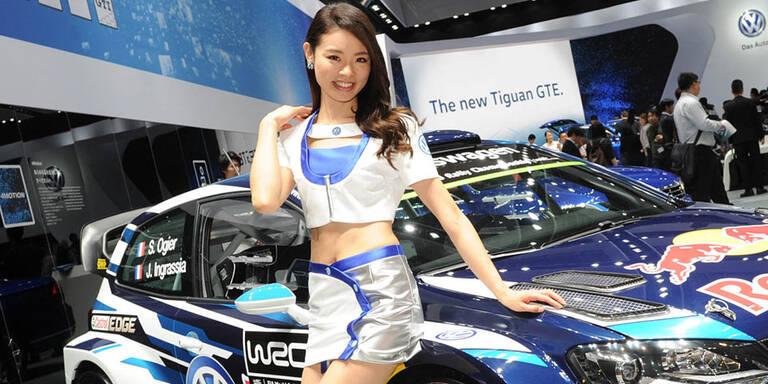 Peking Autoshow ohne sexy Hostessen