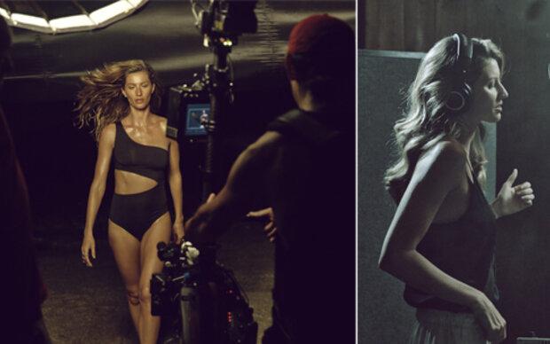 H&M-Kampagne: Gisele singt im Bikini