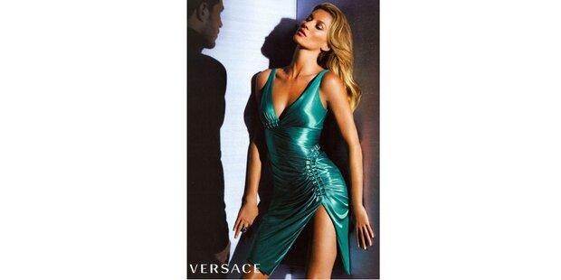 Sexy Gisele wirbt für Versace