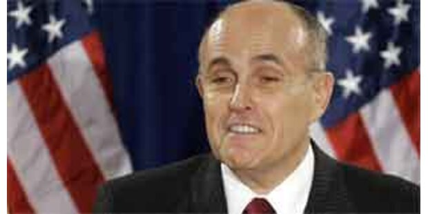 Rudolph Giuliani - Krisenmanager nach 09/11