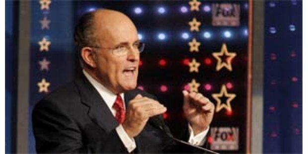 Giuliani von eigener Partei ausgebuht