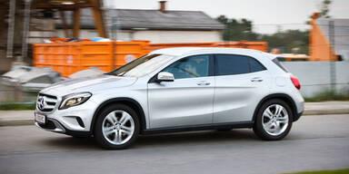 Mercedes GLA 200 CDI im Kurztest