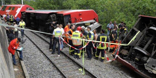 Schweizer Todeszug fuhr zu schnell