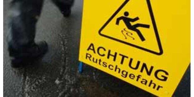 Glatteisgefahr in Tirol, Wien und NÖ