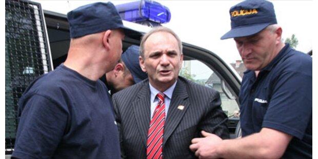 Kriegsverbrecher Glavas festgenommen