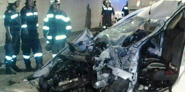 Auto gegen Lkw im Gleinalmtunnel: Toter