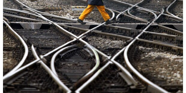 Schwere Arbeitsunfälle auf Österreichs Gleisen