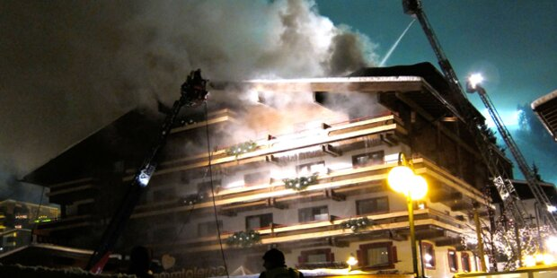 Hotel des FPÖ-Chefs ausgebrannt