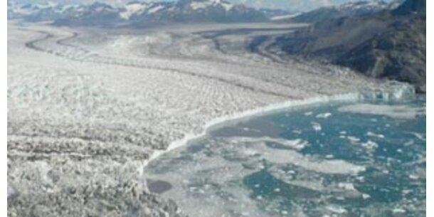 Unsere Gletscher noch nie so stark geschmolzen