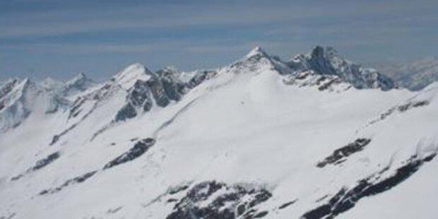 Tiroler überlebt Sturz in Gletscherspalte